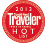 Conde Nast Traveler Hot List 2013