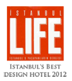 Georges Hotel has been designated as the Best design hotel in Istanbul in 2012 by Istanbul Life Magazine