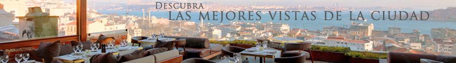 Descubra las mejores vistas de la ciudad al Georges Hotel Istanbul