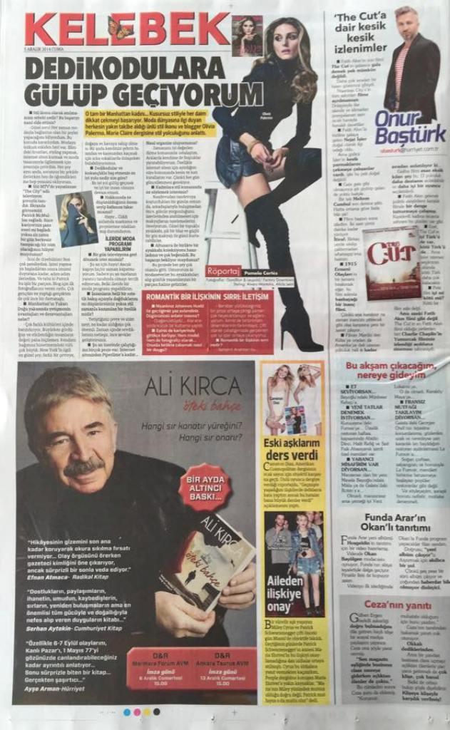 Kelebek cover 05.12.2014